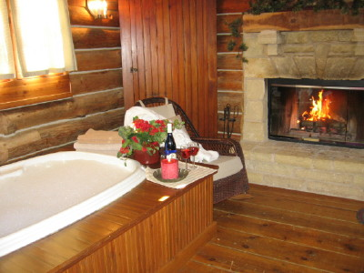 Whirlpool for 2, private secluded honeymoon